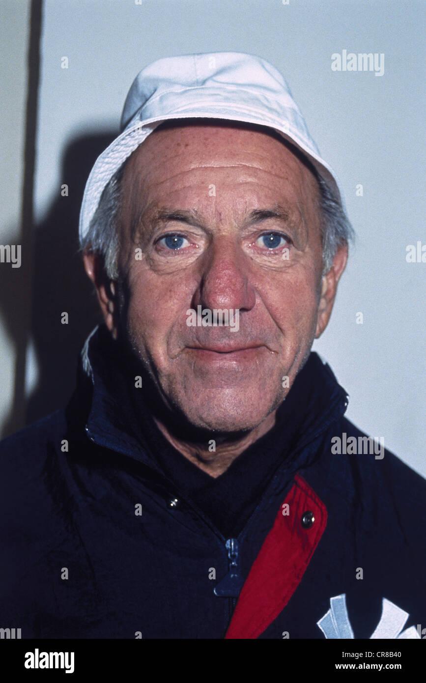 Klugman, Jack, 27.4.1922 - 24.12.2012, US-amerikanischer Schauspieler, Porträt, 1990 s, Additional-Rights-Spiel Stockbild