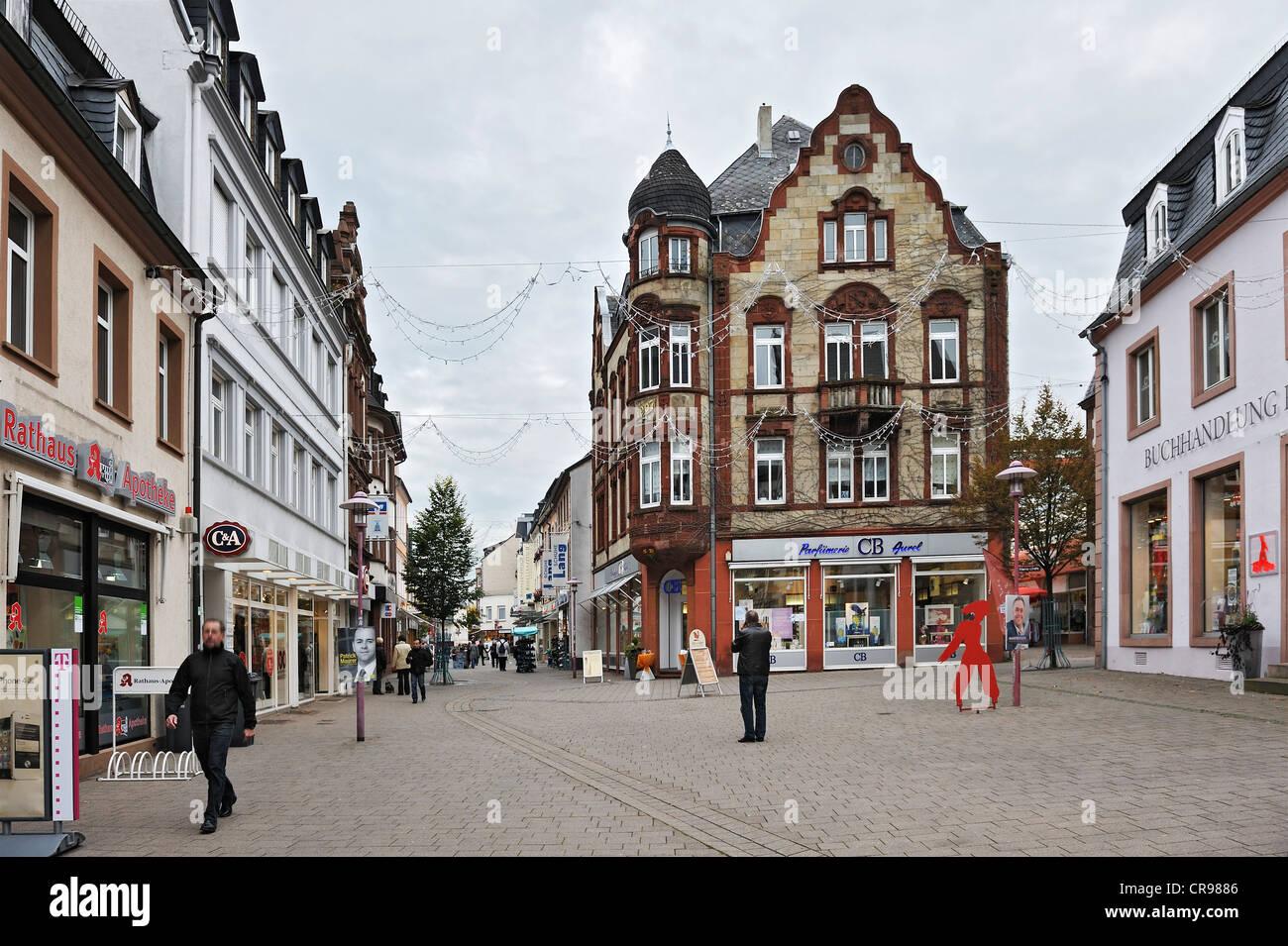 Haus erbaut 1907 Merzig Saarland Deutschland Europa