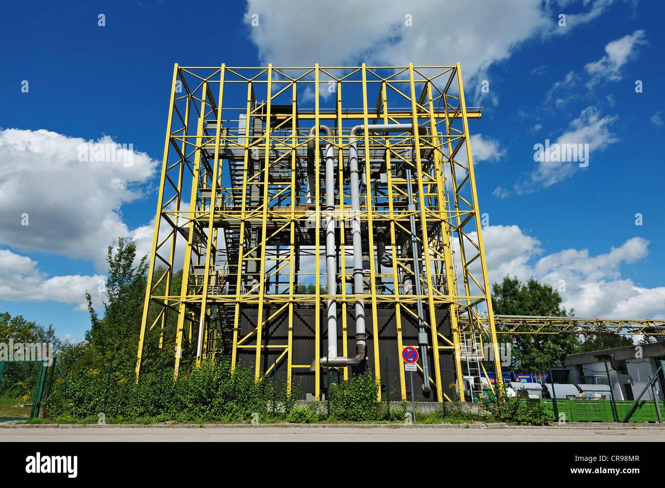 Technische Universität München, TUM, Testanlage der Fakultät für Chemie, Garching bei München, Stockbild