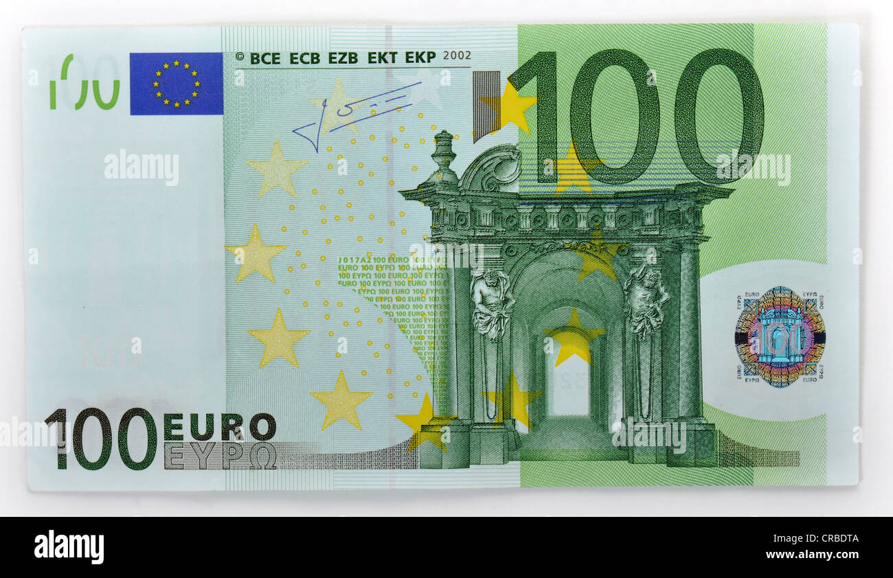 100 euro banknote vorn stockfoto bild 48810170 alamy. Black Bedroom Furniture Sets. Home Design Ideas