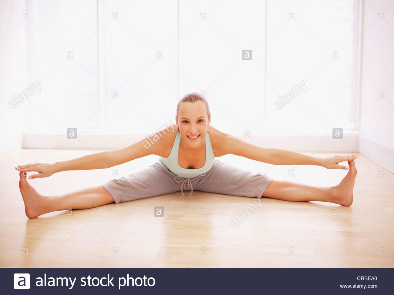 Frauen Mit Gespreitzten Beinen