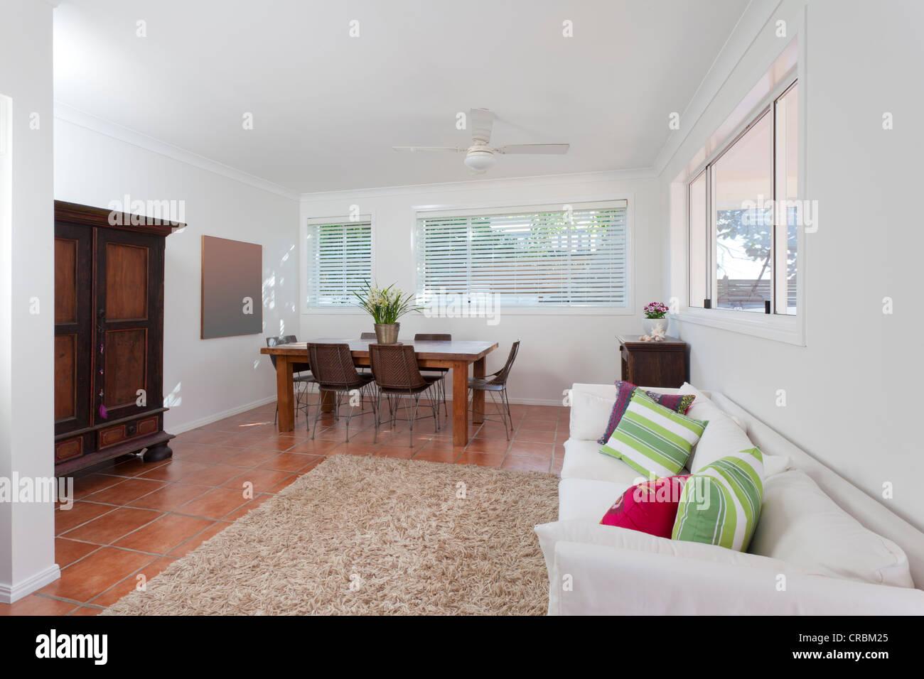 Modernes Wohnzimmer In Australischen Herrenhaus