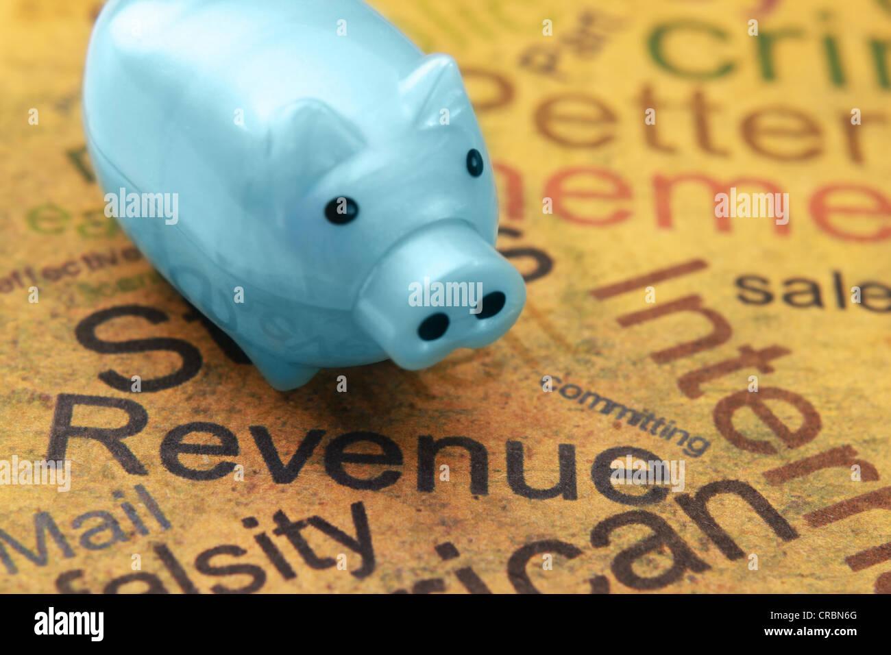Reichtum-Konzept Stockbild