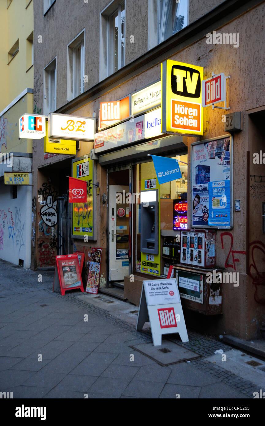 Kiosk Auf Englisch