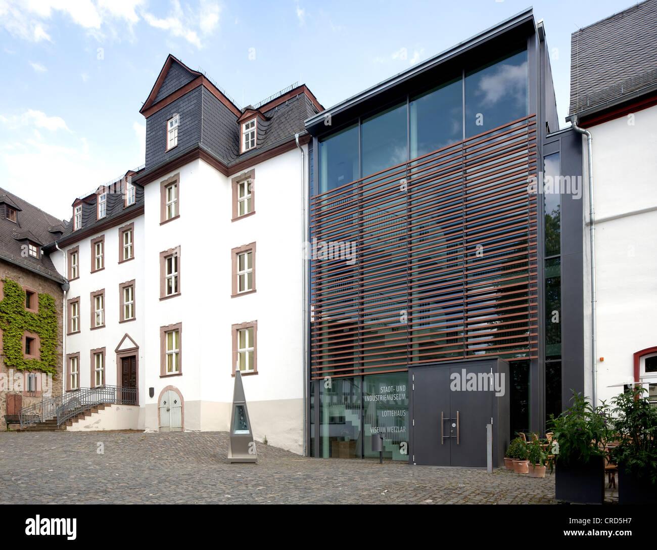 Stadt-Und Industriemuseum, Stadt und Industrie Museum, Wetzlar, Hessen, Deutschland, Europa, PublicGround Stockbild