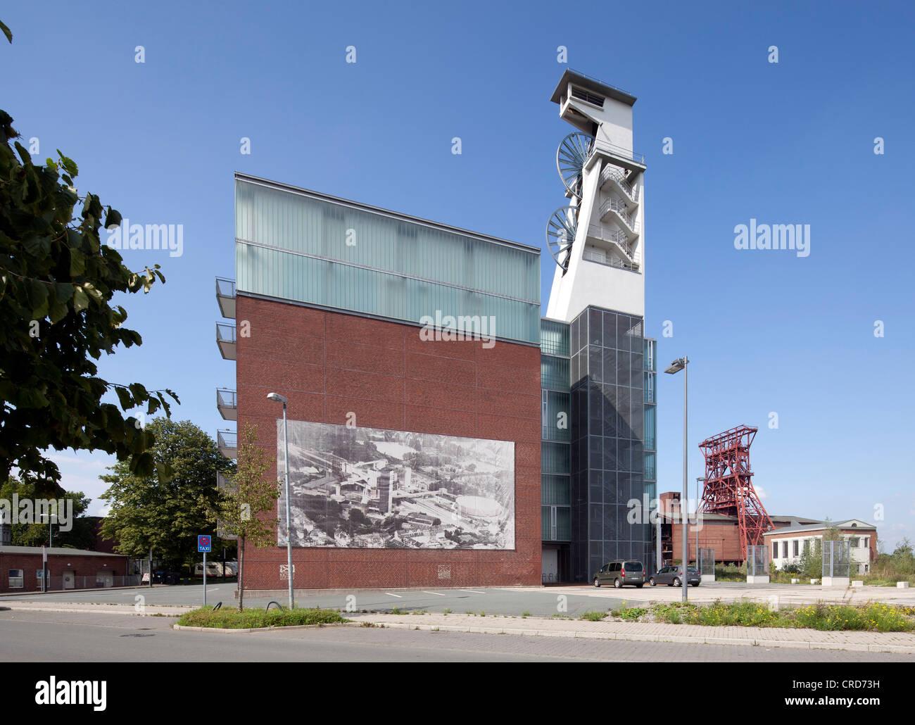 Ehemalige Konsolidierung Coal Mine Industriekomplex, Consol Kulturzentrum, Probe Musikzentrum, Gelsenkirchen, Ruhrgebiet Stockbild