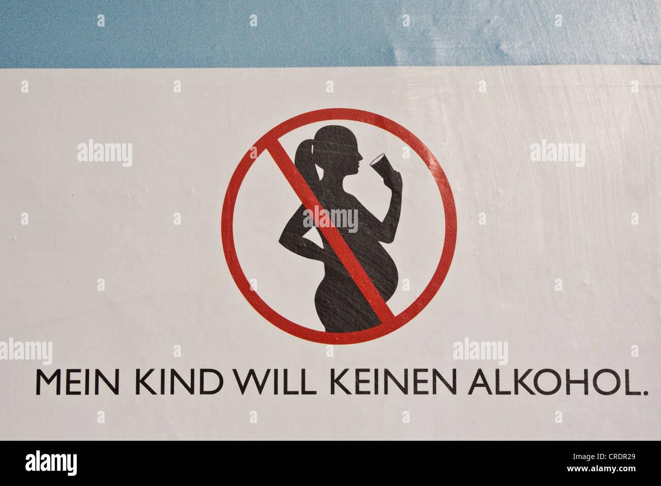 Piktogramm Maßnahmen Zum Verbot Von Alkohol Während Der