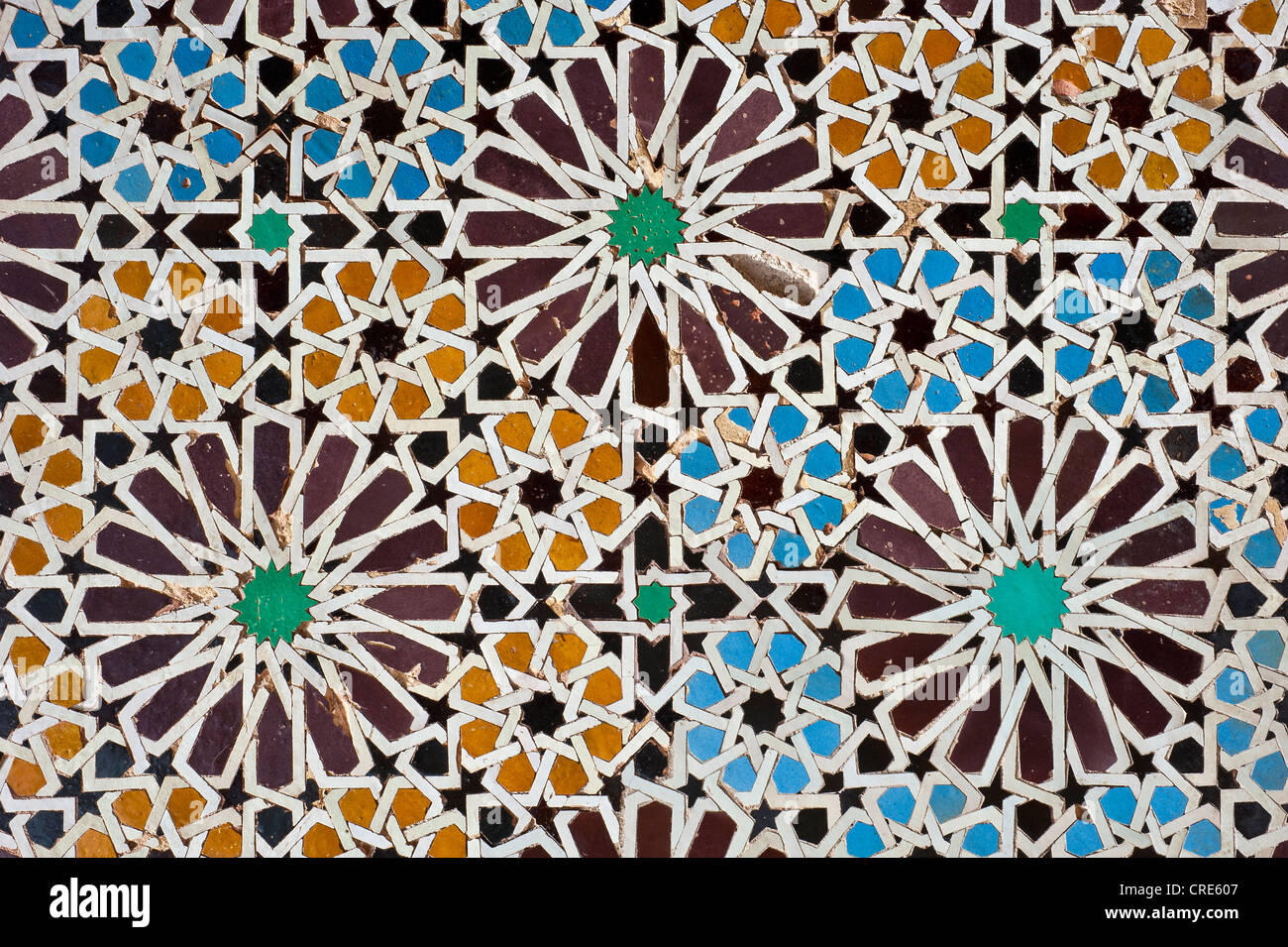 Tiles marrakech stockfotos tiles marrakech bilder alamy - Fliesen marokko ...