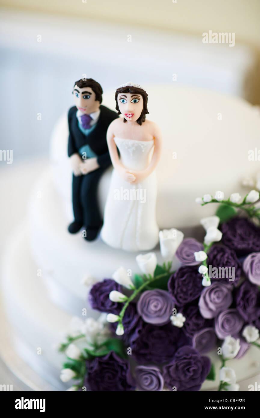 Hochzeit Uk Kleine Winzige Lustige Humorvolle Figuren Der Braut