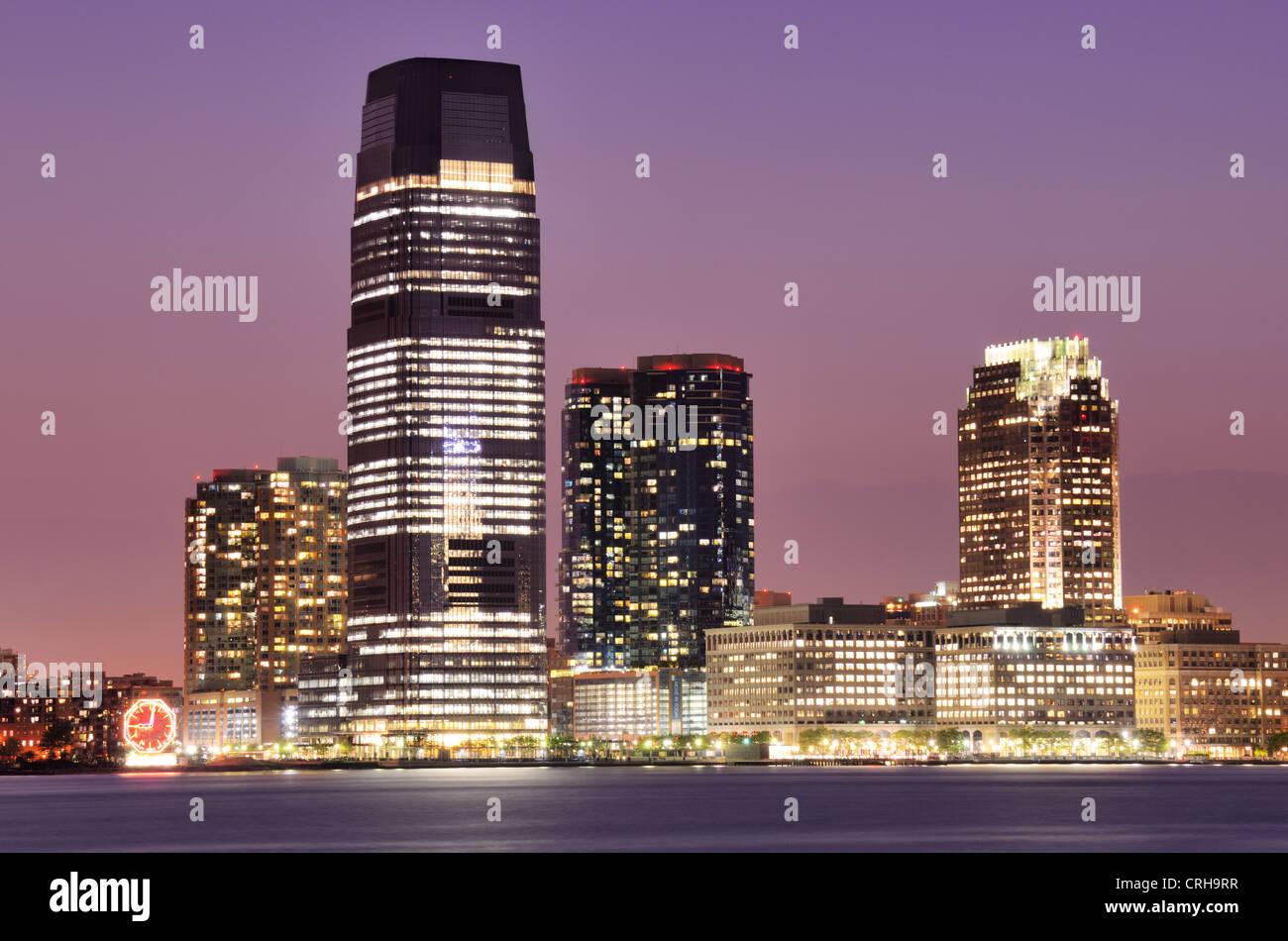 Austauschplatz in Jersey City, New Jersey, USA. Stockbild