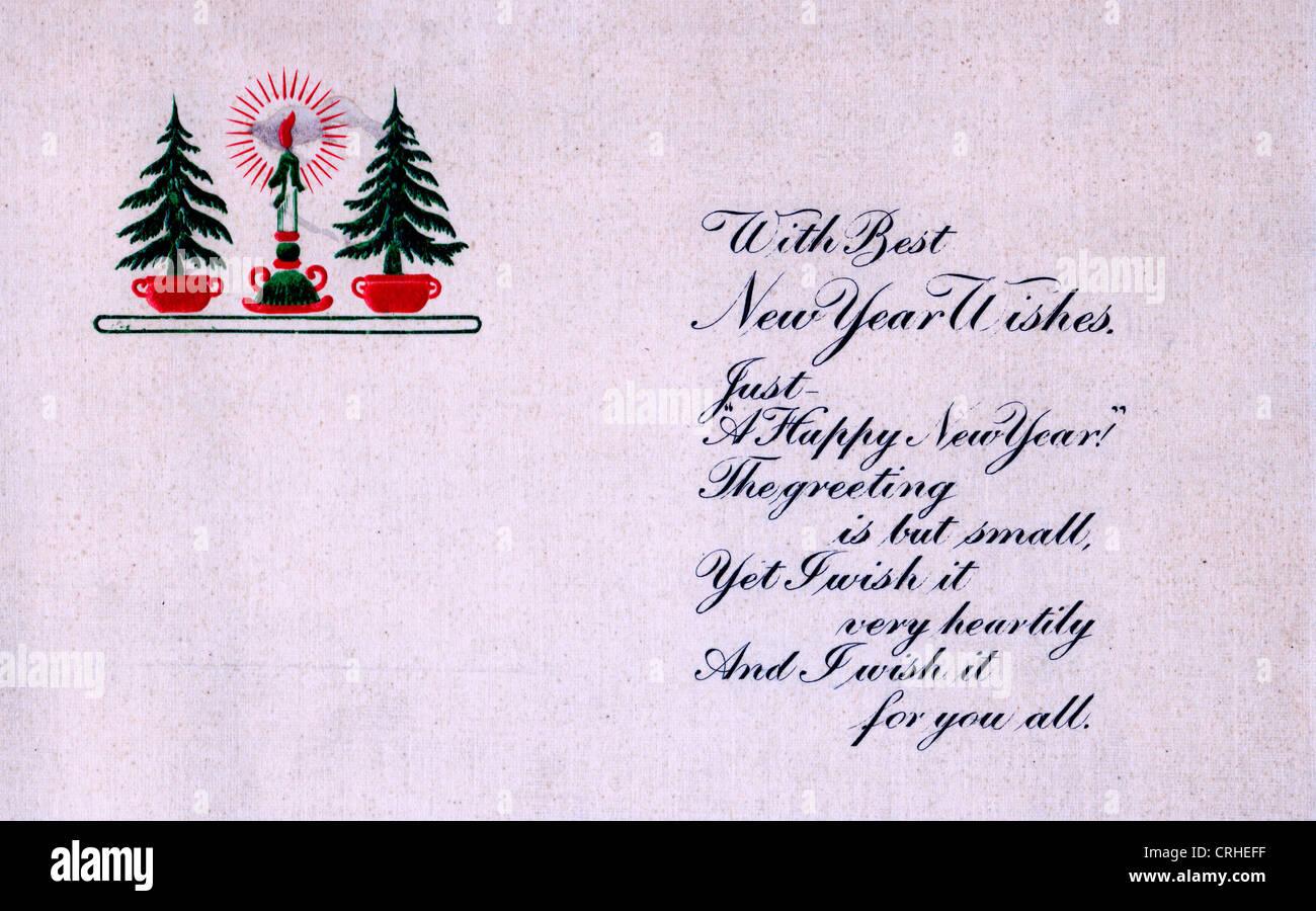 Mit den besten neuen Jahre wünschen, nur ein frohes neues Jahr die ...