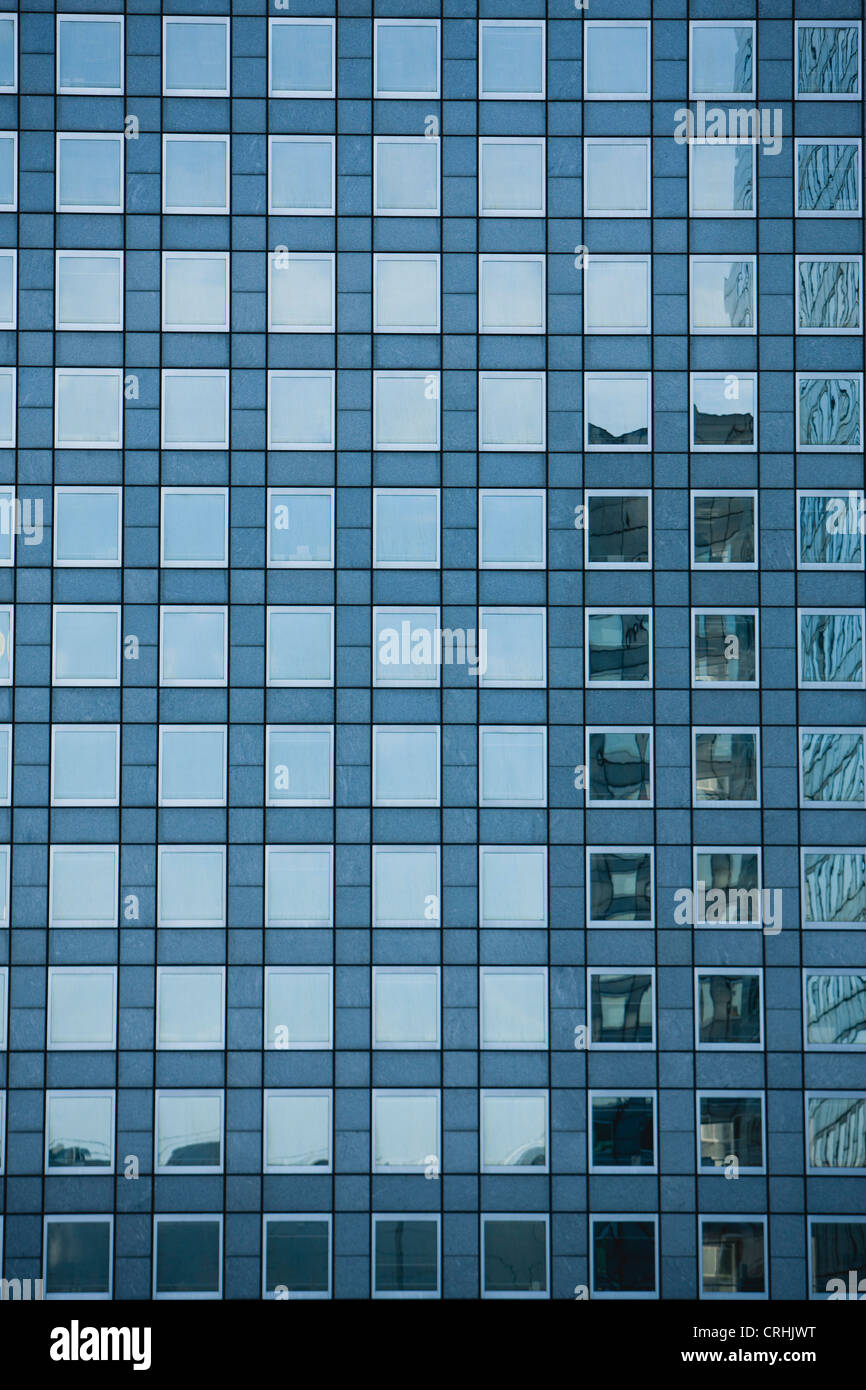 Gebäude-Fassade, full-frame Stockbild