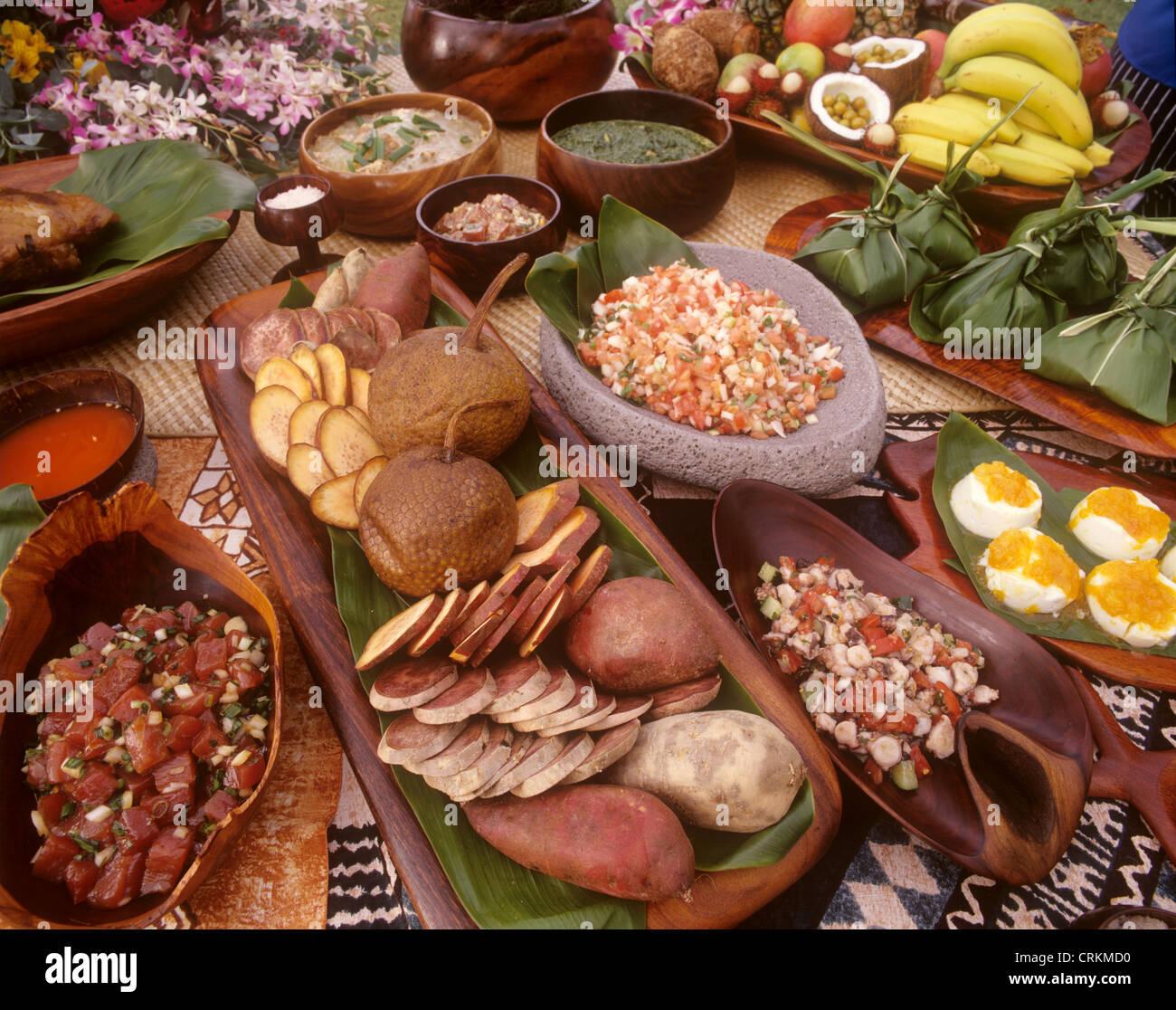 Hawaiian Luau Food Stockfotos & Hawaiian Luau Food Bilder - Alamy