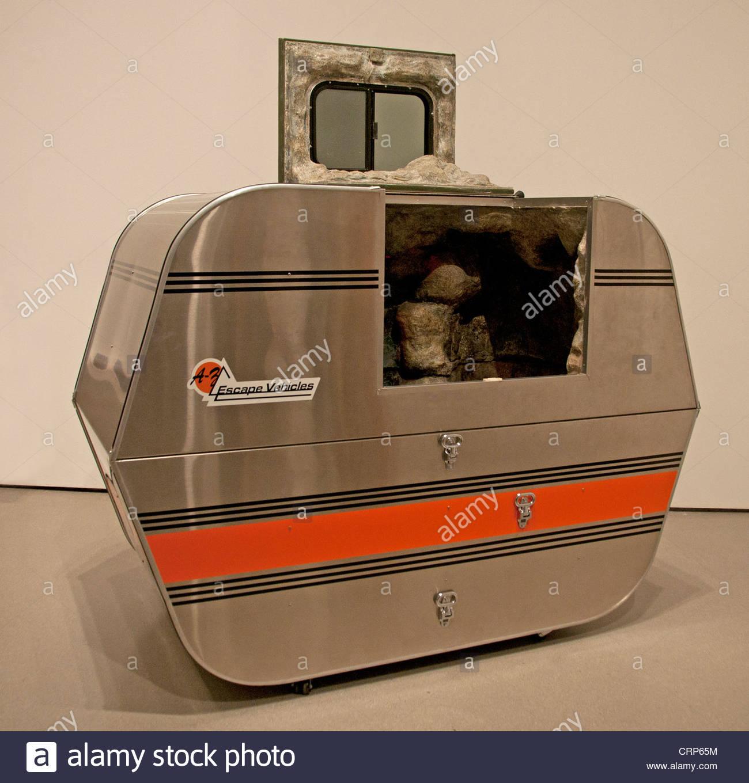 A-Z Flucht Fahrzeug 1996 Andrea Zittel Amerikaner Vereinigte Staaten von Amerika Stockbild