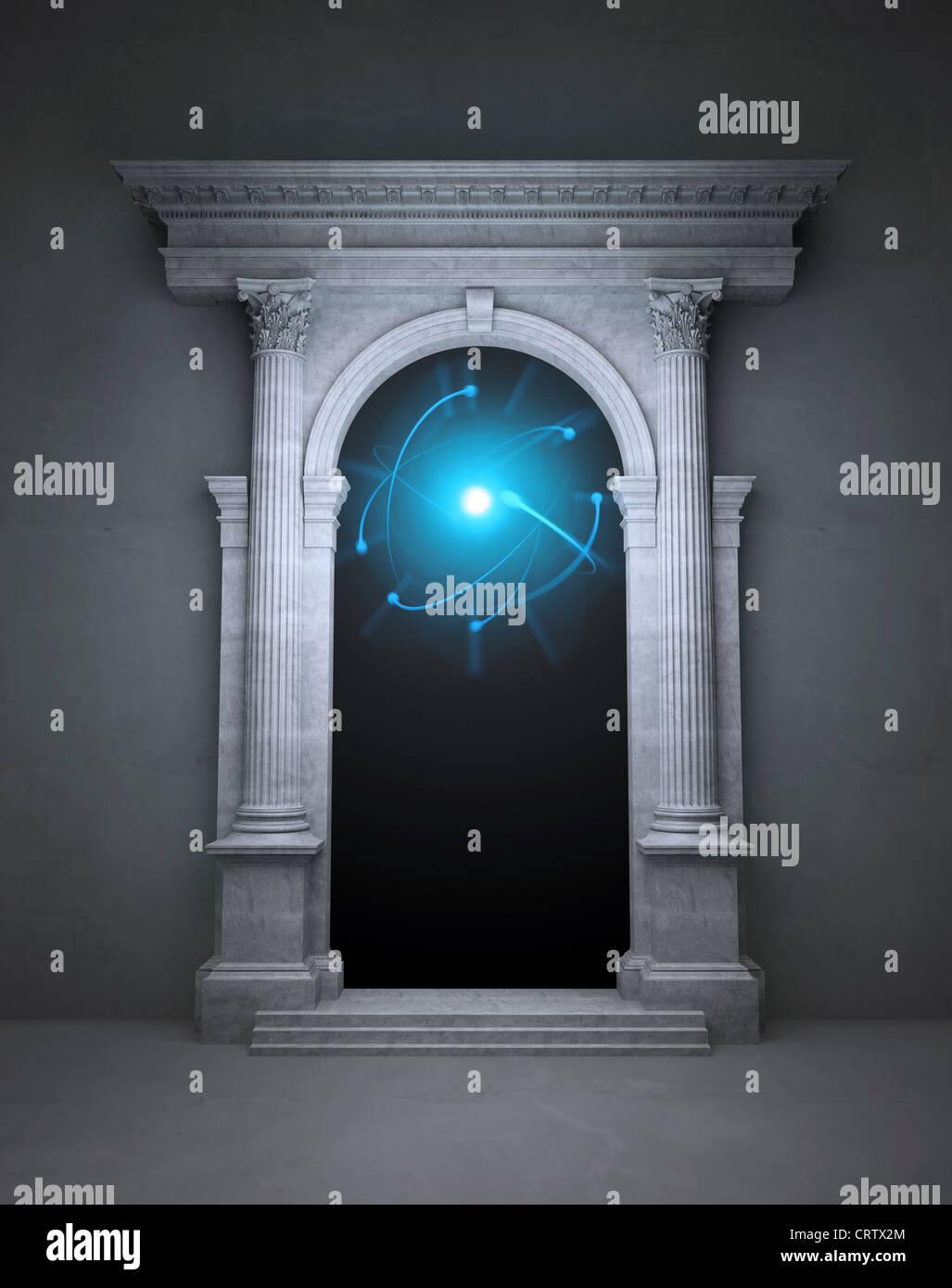 Geheimnisvolle Magische Portal Stockfoto Bild 49105132 Alamy