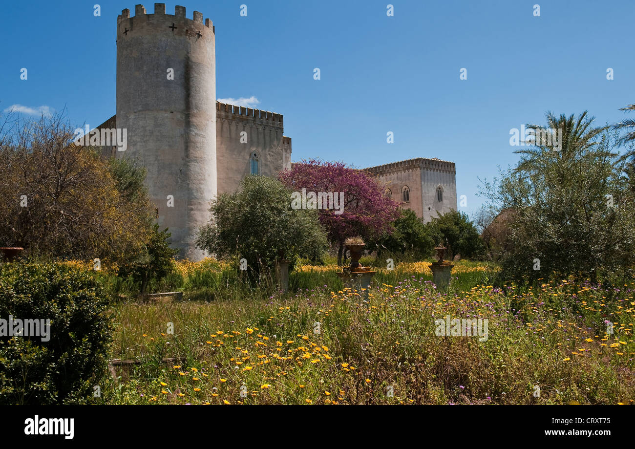 park und schloss von donnafugata sizilien italien stockfoto bild 49147593 alamy. Black Bedroom Furniture Sets. Home Design Ideas