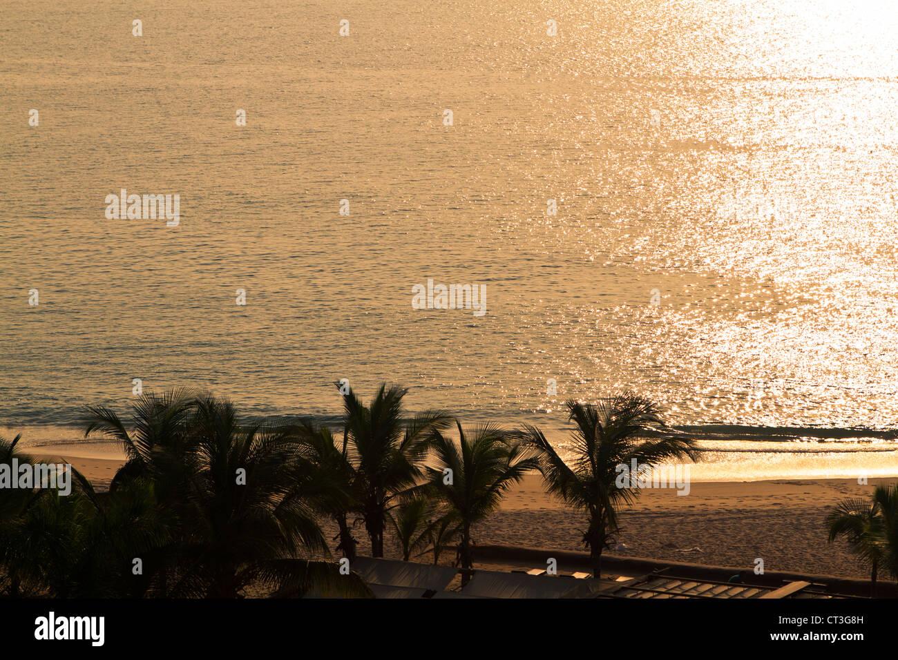 Strand in Insel Cabo, Luanda Angola Stockbild