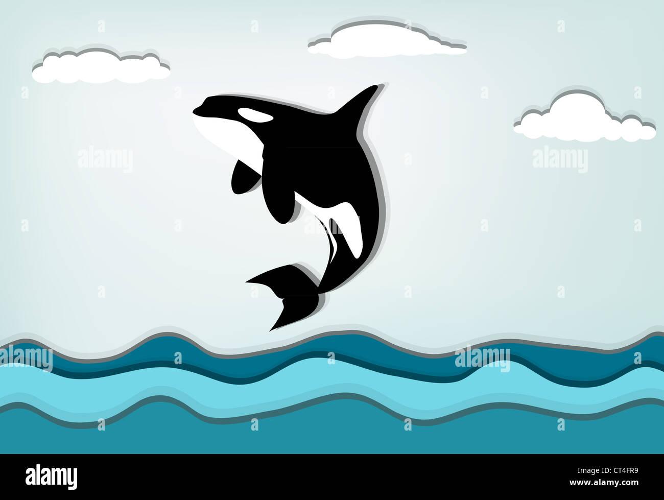 White Whale Illustration Stockfotos & White Whale Illustration ...
