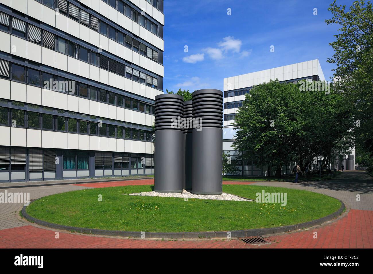 Technische Universität Dortmund, Fachbereich Biologie Und Chemieingenieurwesen, Dortmund, Ruhrgebiet, Nordrhein Stockbild