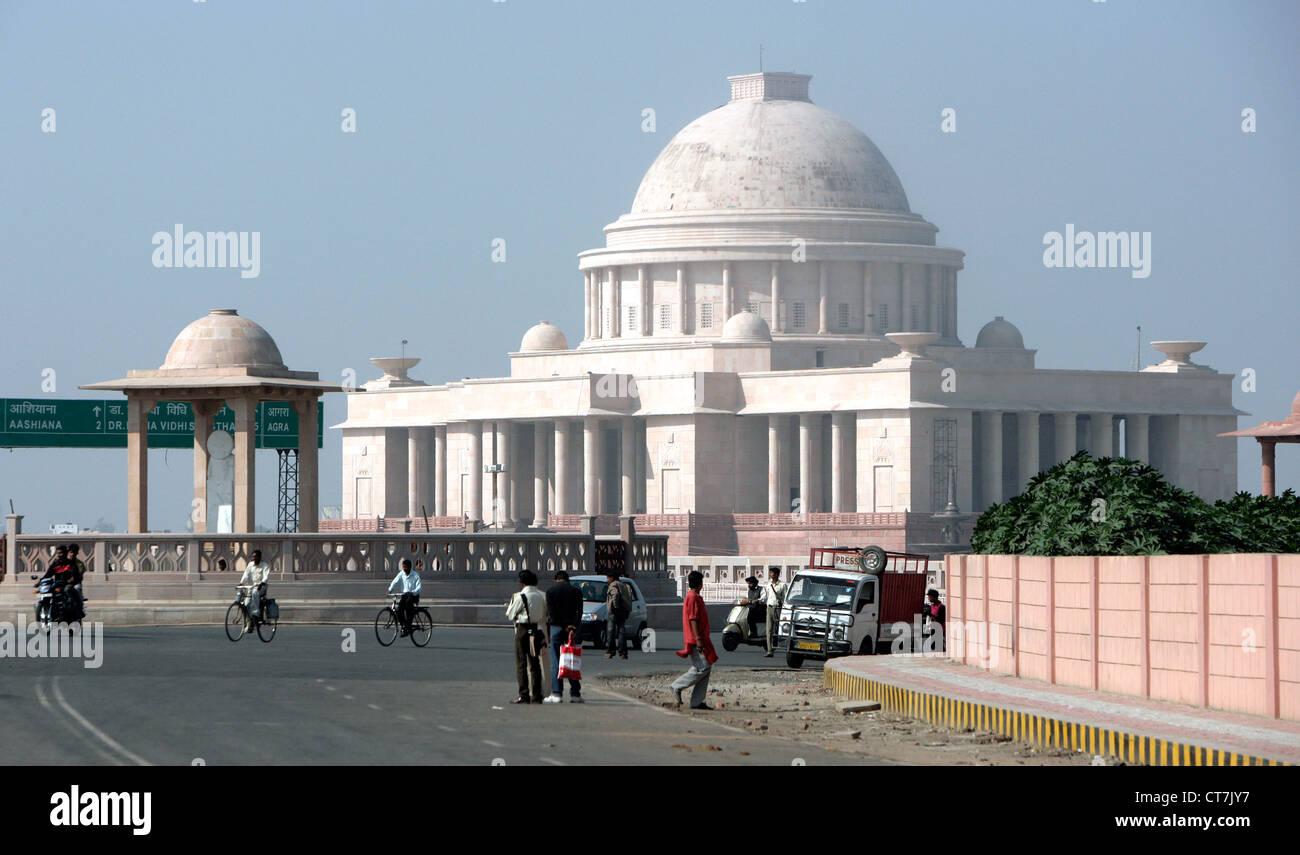 Prime Minister Palast in Lucknow, Uttar Pradesh, Indien Stockbild