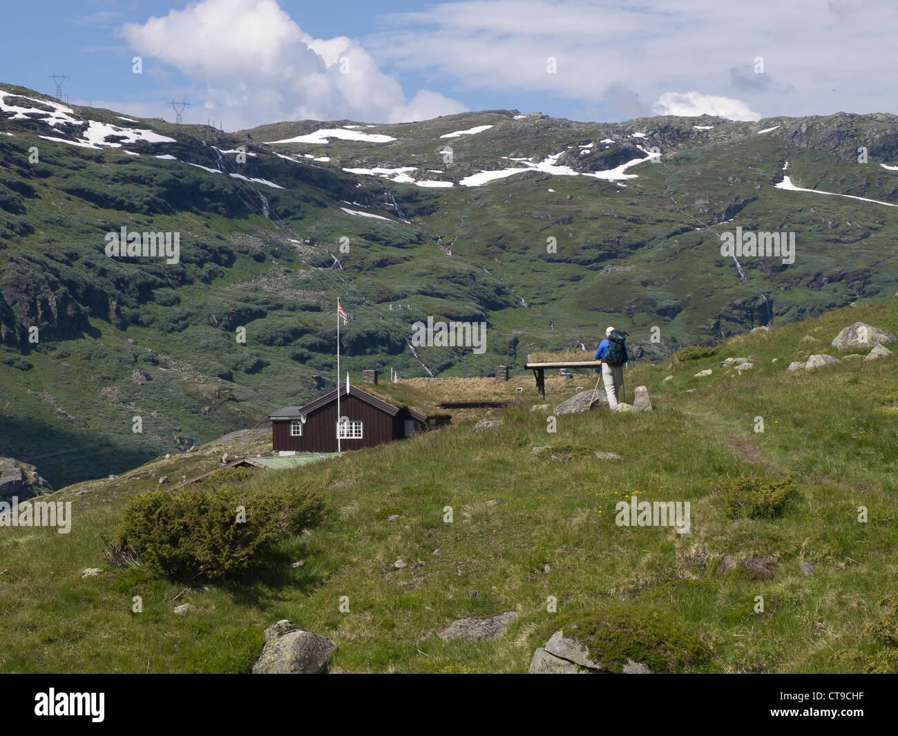 aurlandsdalen hiking stockfotos aurlandsdalen hiking. Black Bedroom Furniture Sets. Home Design Ideas