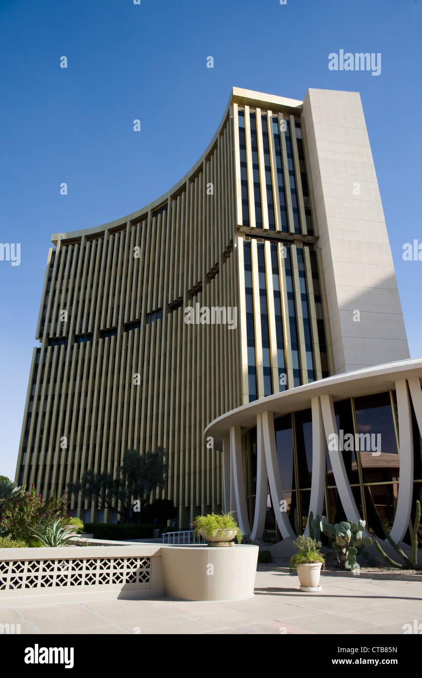 Das Phoenix Financial Center, Innenstadt von Phoenix, Arizona Stockbild