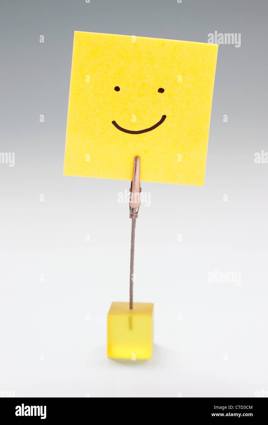 Glück Konzeptbild Stockfoto