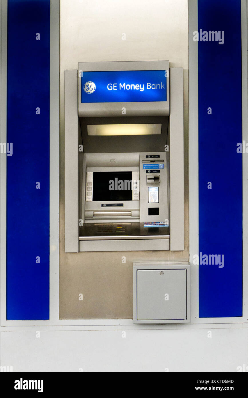 ein Geldautomat Stockbild