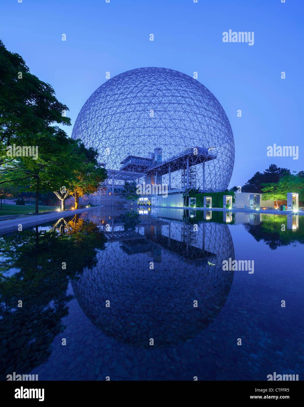 Montreal Biosphère Stockbild