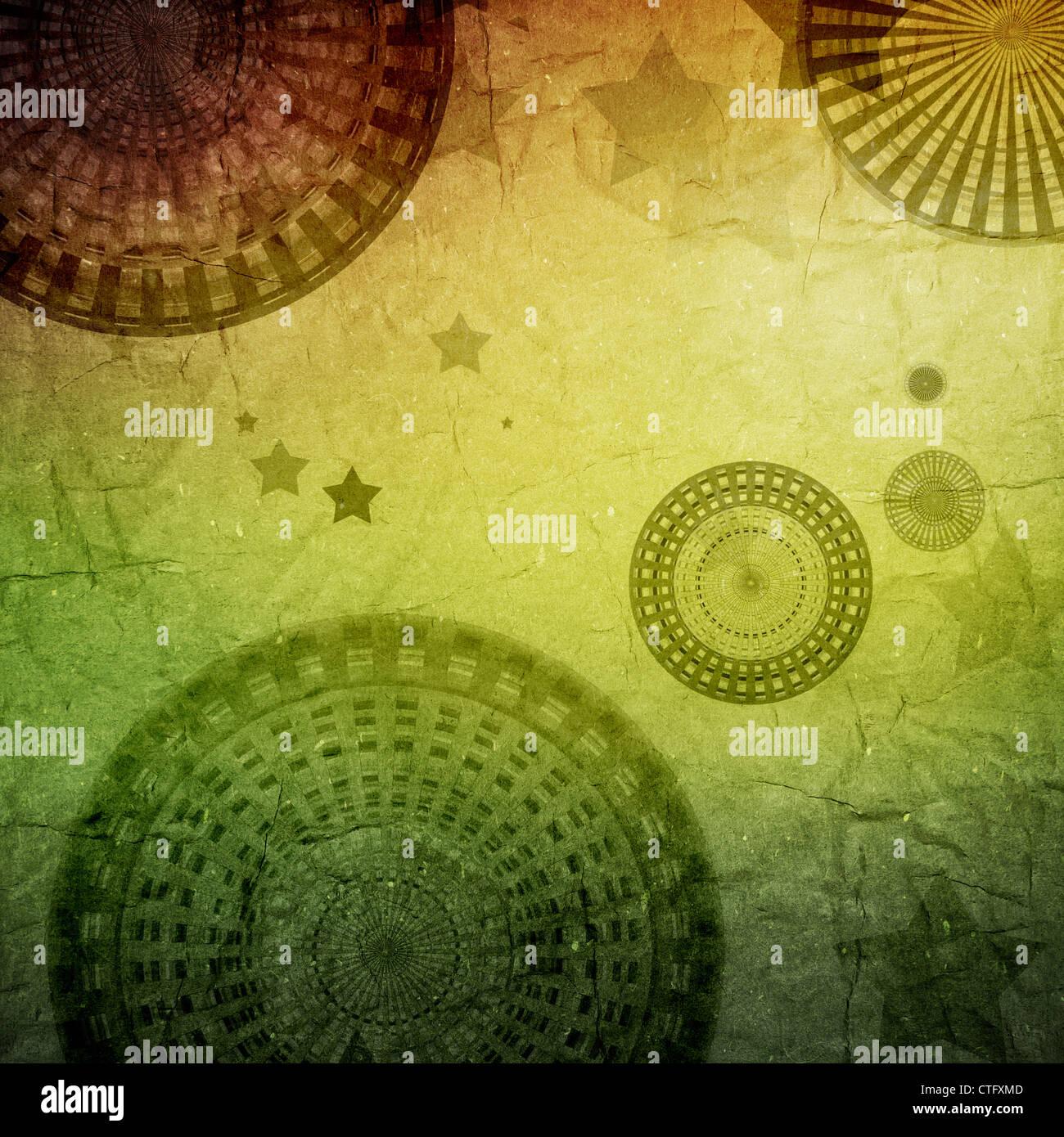 Grunge retro Vintage Papier Textur Hintergrund Stockbild