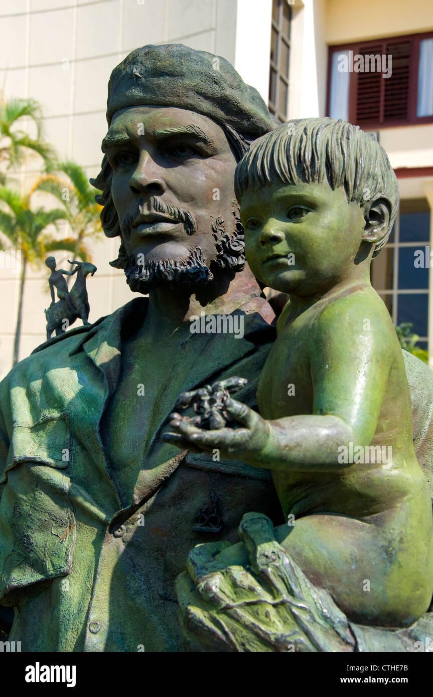 Che Guevara-Statue, Santa Clara, Kuba Stockbild