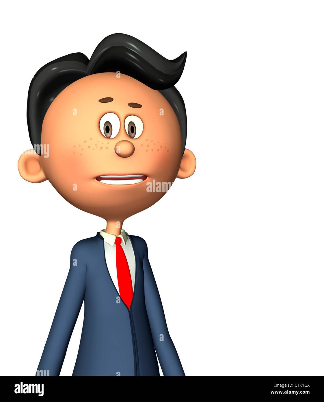 Cartoon Figur Fotograf Serie Lehrer Stockfoto