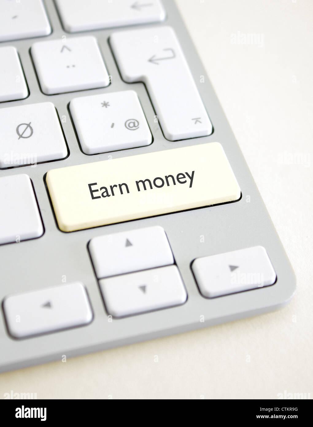 Geld verdienen Stockbild