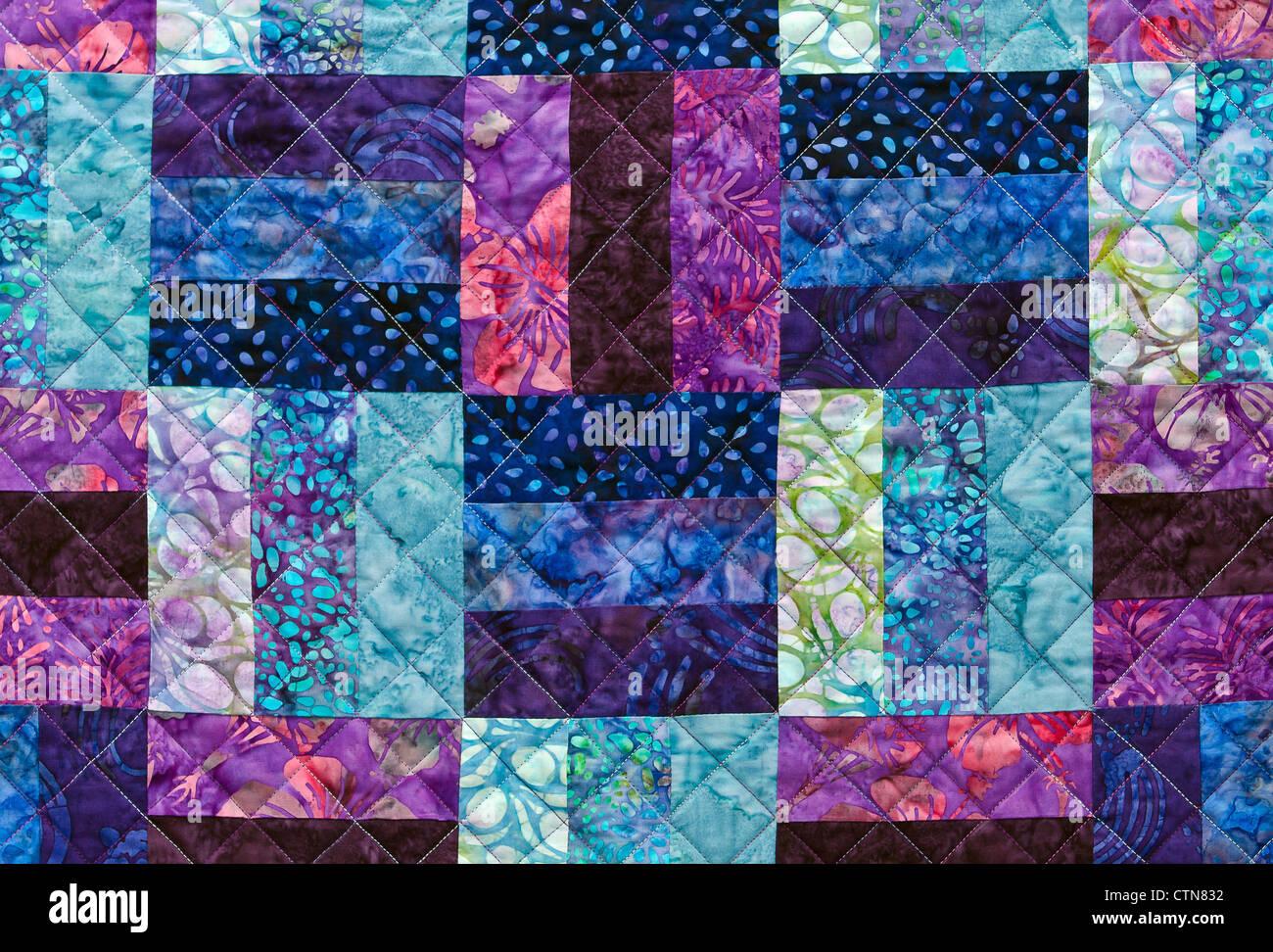 Bunte Quiltmuster Stockfoto, Bild: 49639830 - Alamy