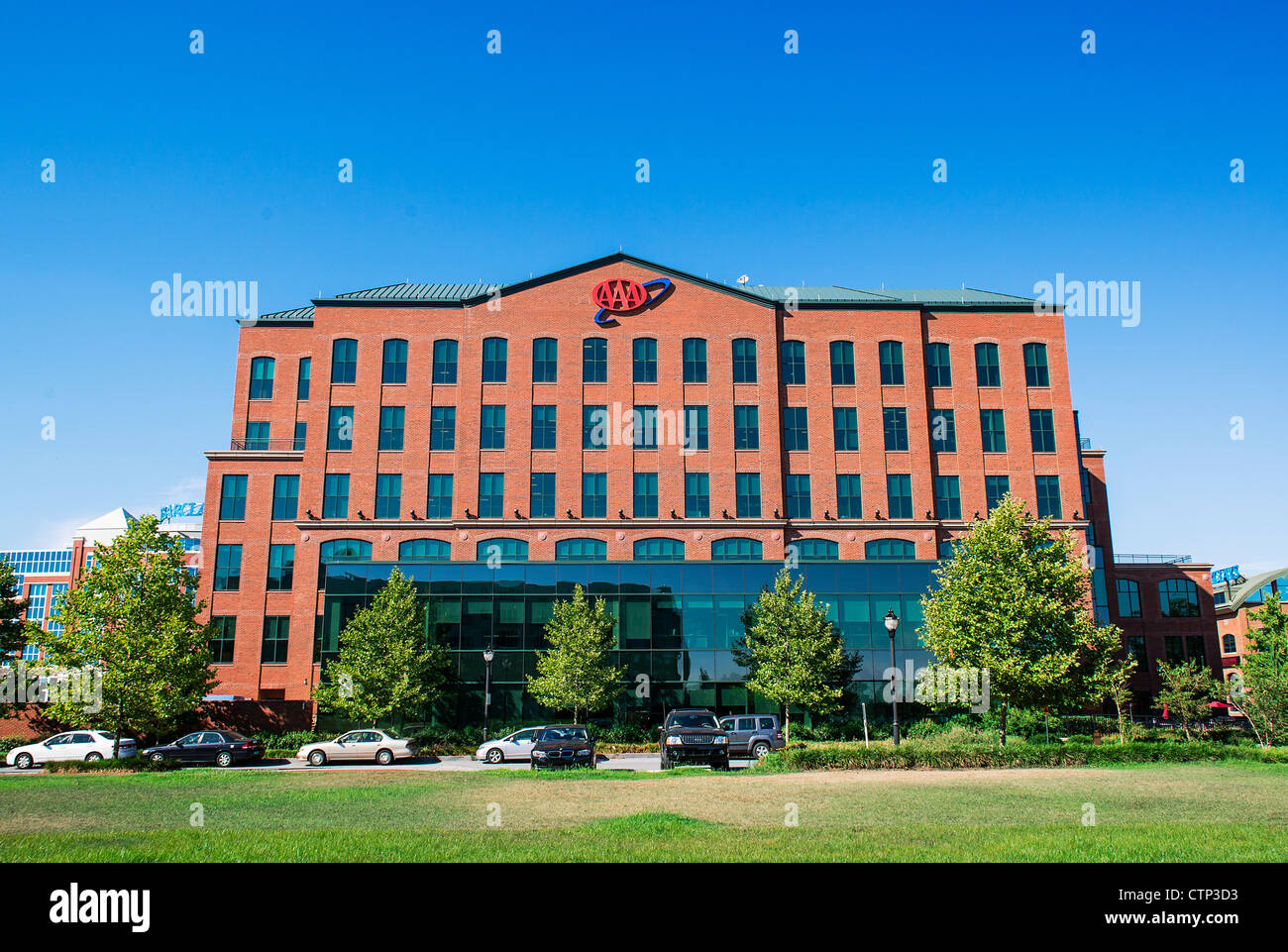 Triple A Mid - Atlantic Firmensitzen, Wilmington, Delaware, USA Stockbild