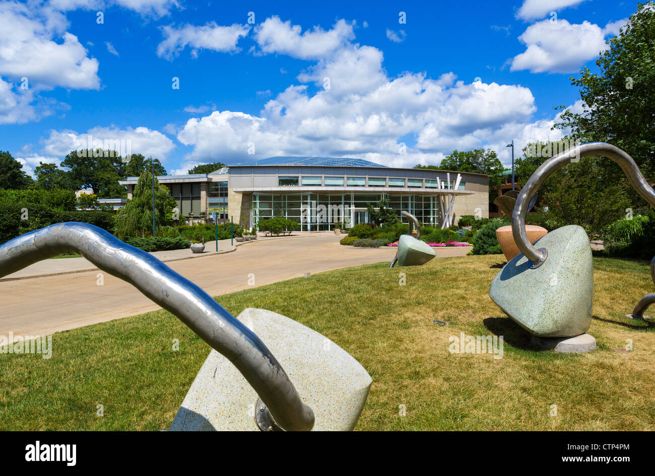Cleveland Botanical Garden, University Circle Bezirk, Ohio, USA Stockbild