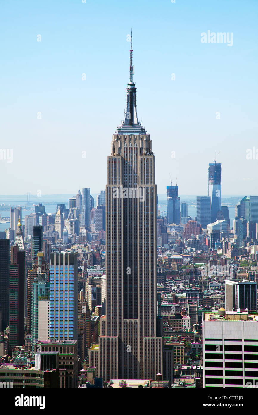 empire state building stockfotos empire state building bilder alamy. Black Bedroom Furniture Sets. Home Design Ideas
