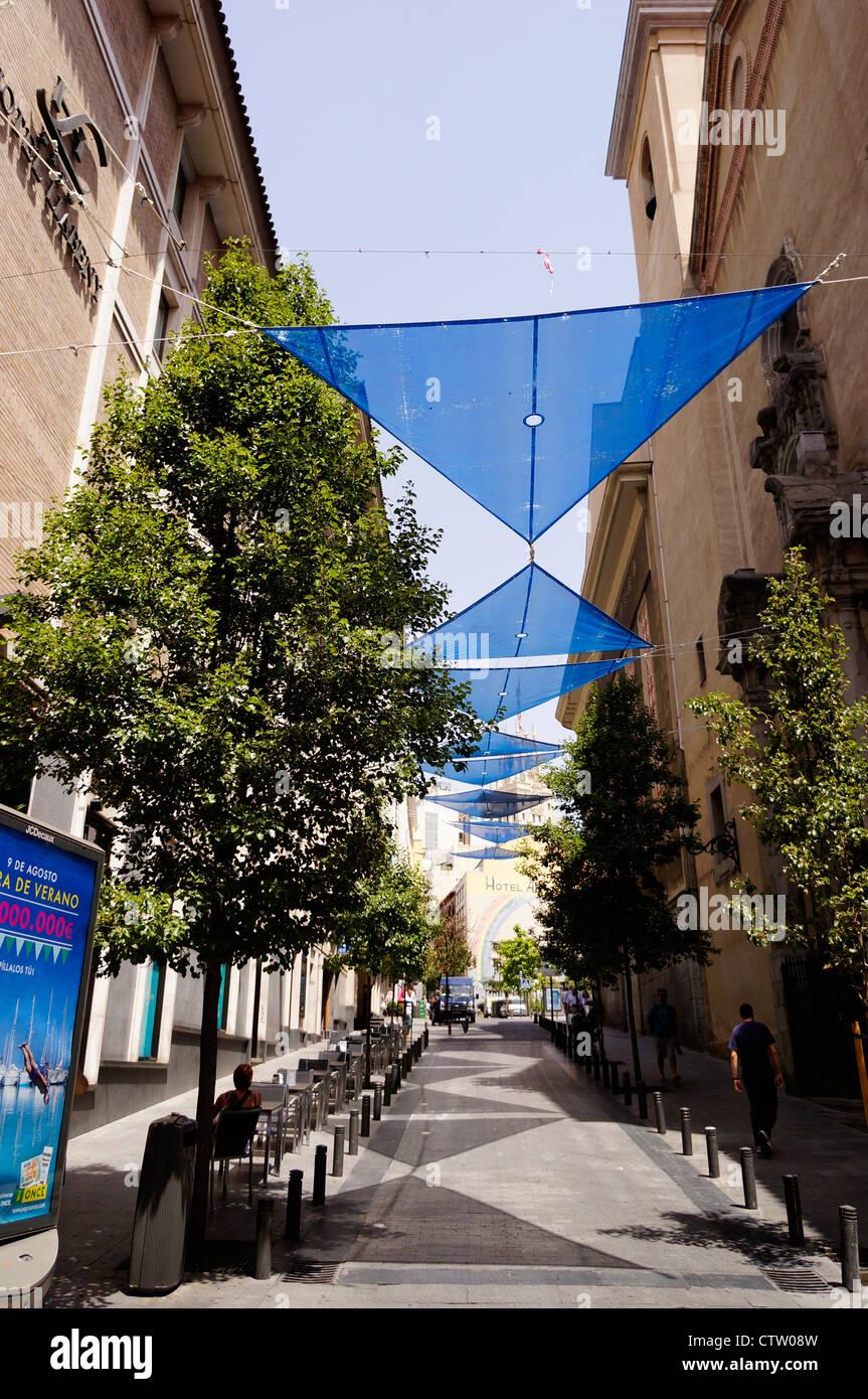 Stadt Madrid, Spanien Stockbild