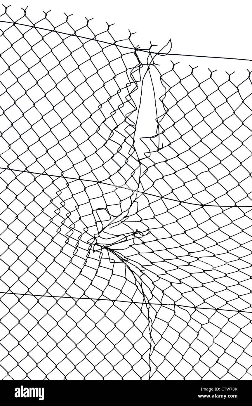 Broken Wire Stockfotos & Broken Wire Bilder - Alamy