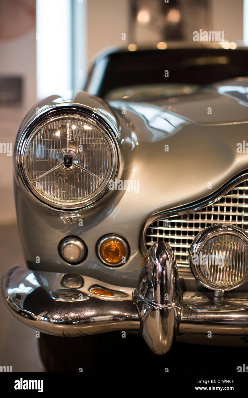 Automuseum Malaga Spanien Stockbild