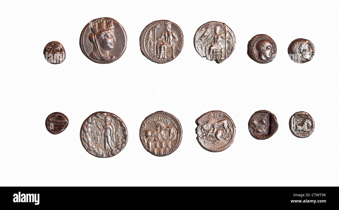 Münzen Geschichte Stockfotos Münzen Geschichte Bilder Alamy