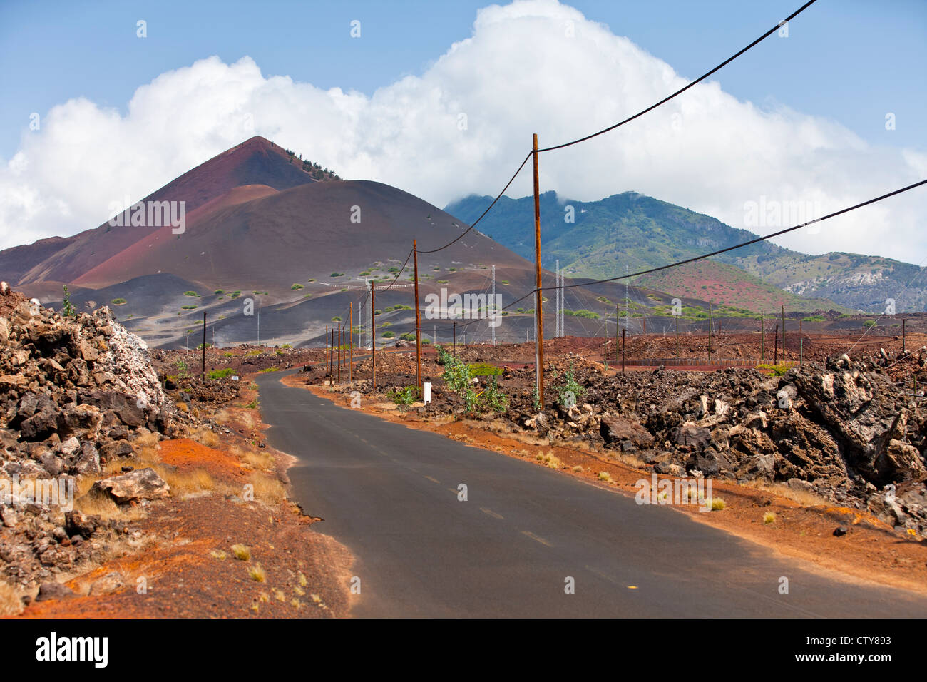 Ascension Island Stockbild