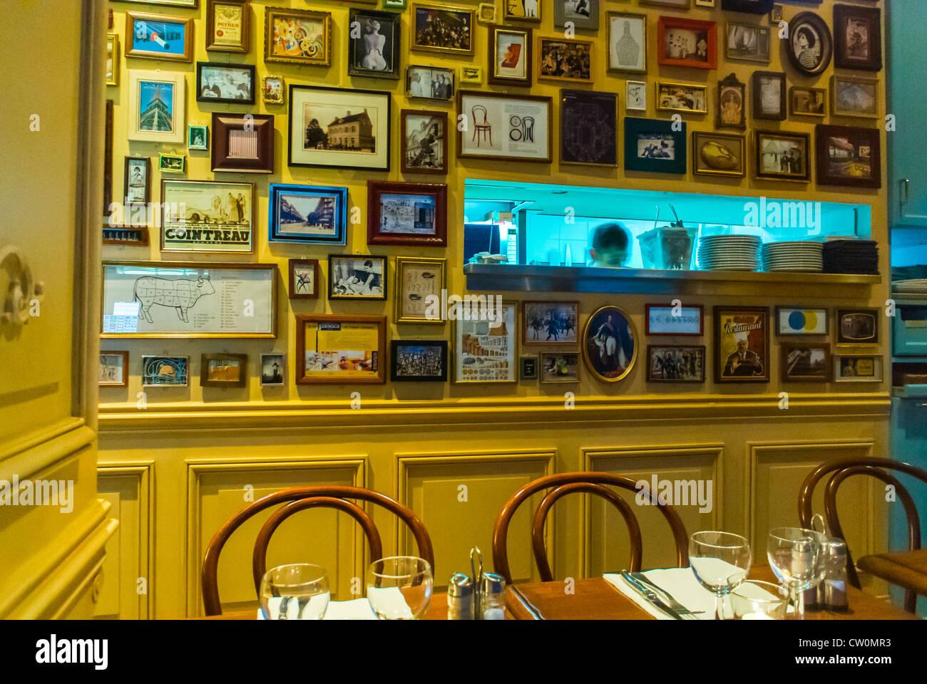 Bistro Restaurant Interior Stockfotos & Bistro Restaurant Interior ...