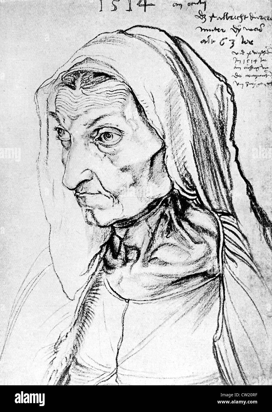 Barbara Dürer Stockbild