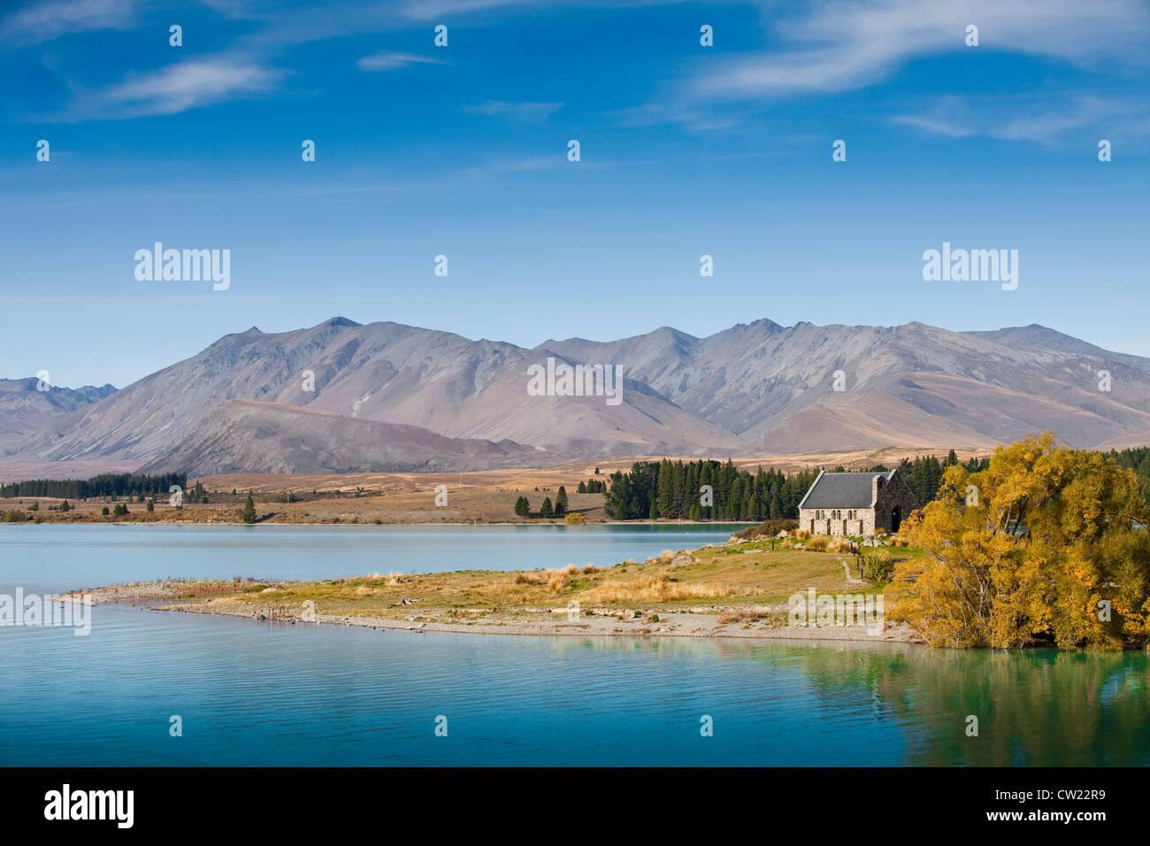 Landschaft in Neuseeland Stockbild