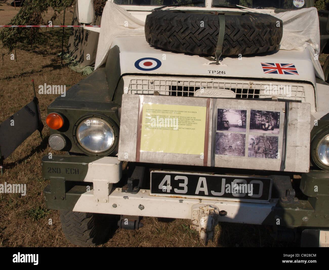LAnd Rover S111 leichte Airportable Stockbild