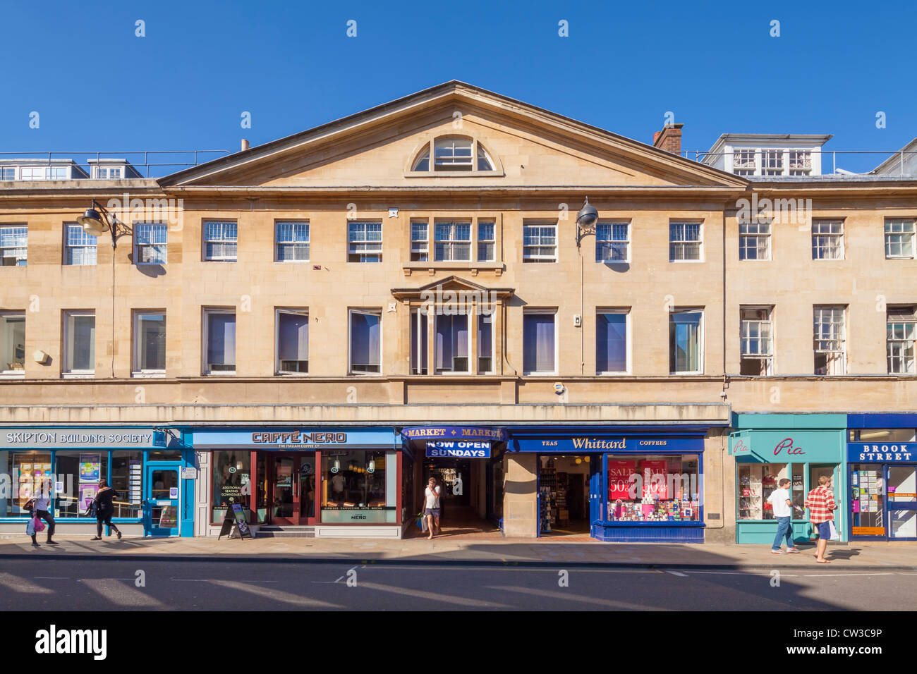 Markthalle, Oxford Stockbild