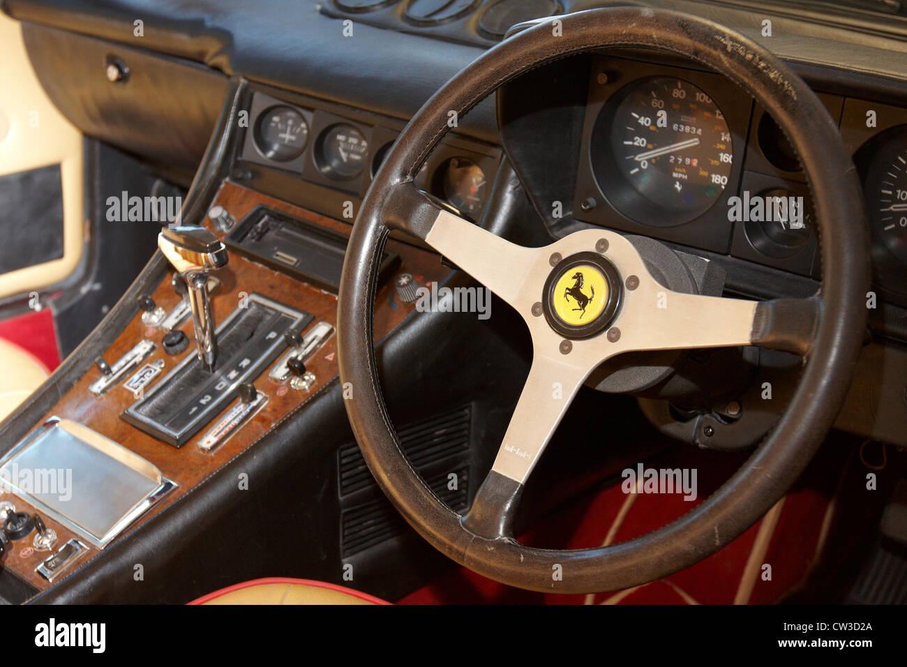 Eine 1978 Gehört Ferrari 400 Gt Coupe Eines Nur 164 Gebaut Eine Oldtimer Auktion Bei Bonhams Oxford Stockfotografie Alamy