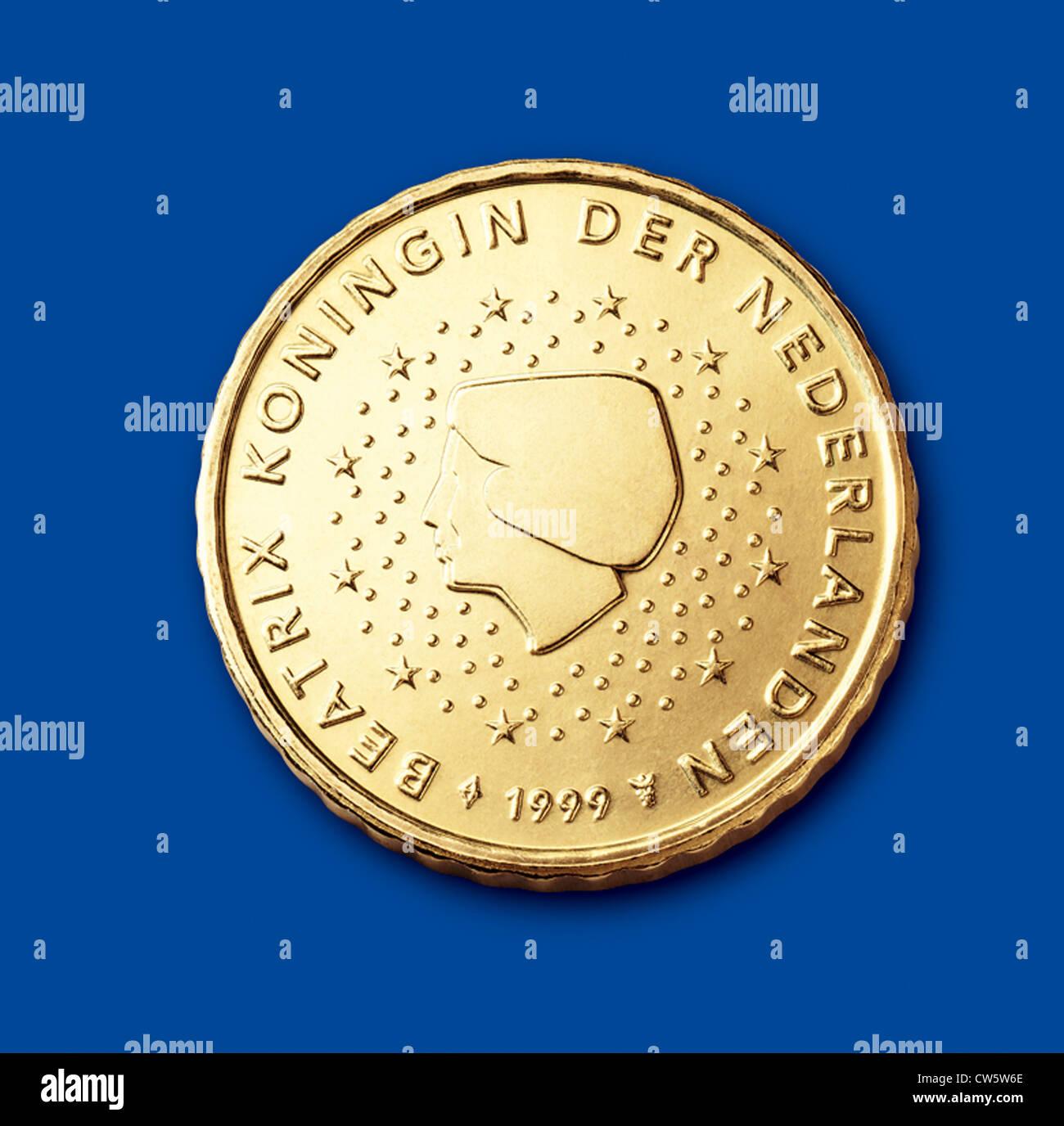 Münzen Von 10 Cent Niederlande Stockfoto Bild 49916678 Alamy