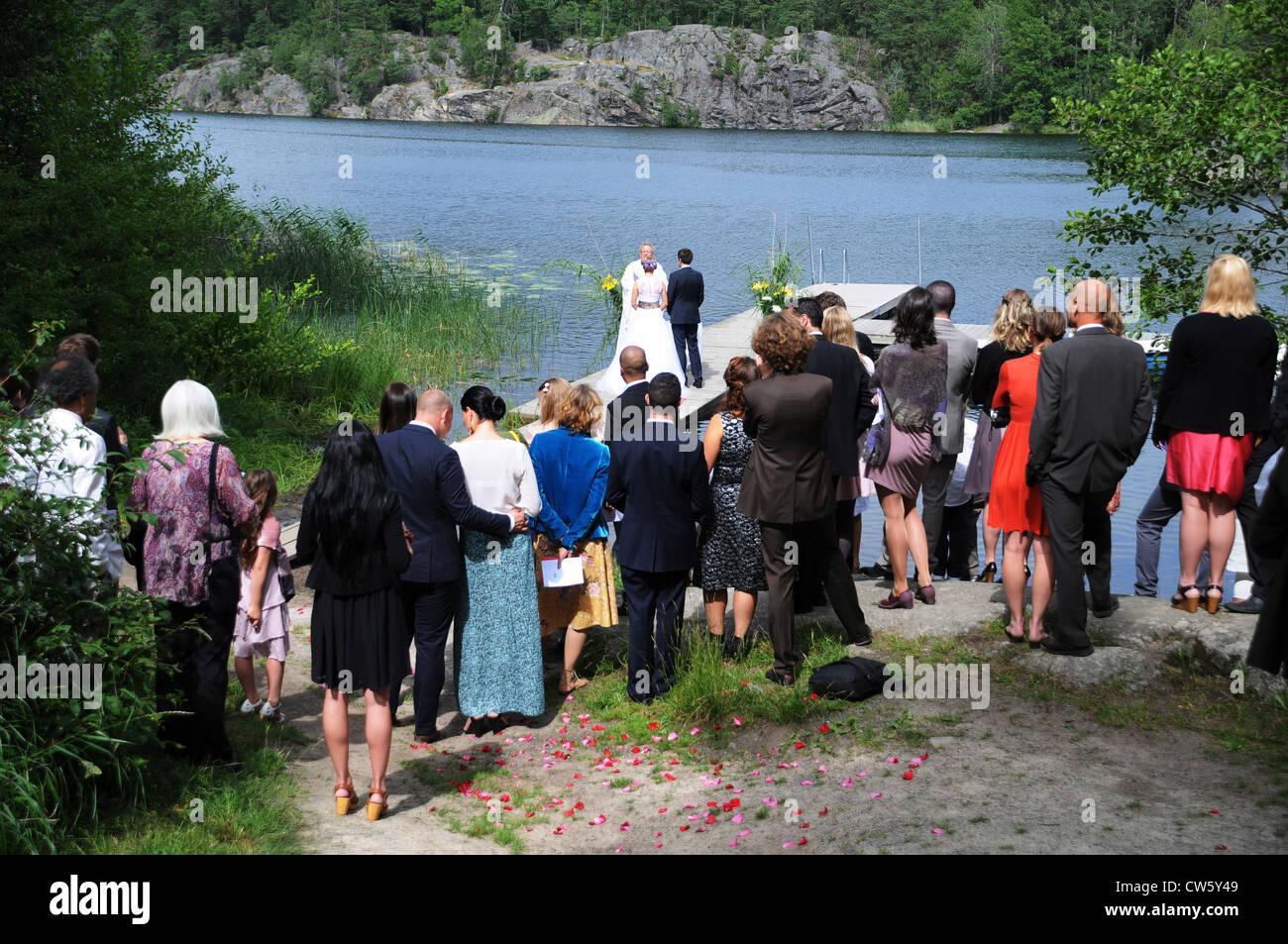Hochzeitszeremonien Stockfotos Hochzeitszeremonien Bilder Alamy